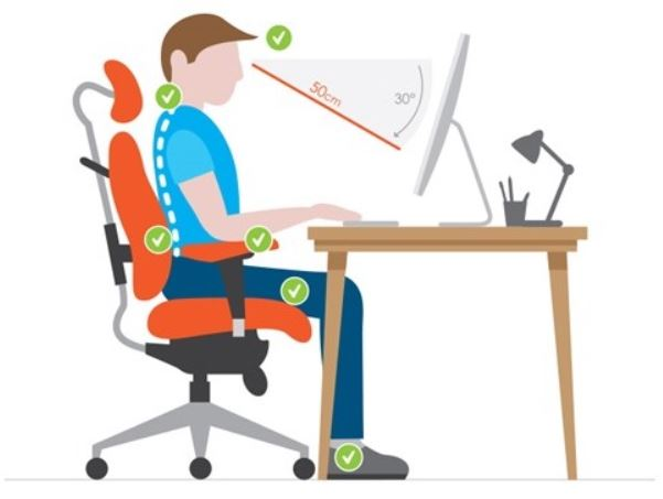 What's the right posture for gaming