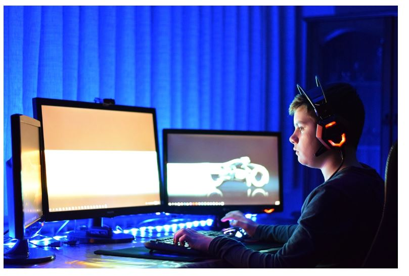 What's the right posture for gaming?