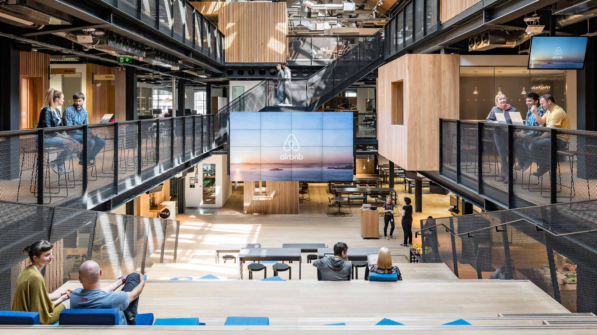 Airbnb head office in San Francisco.
