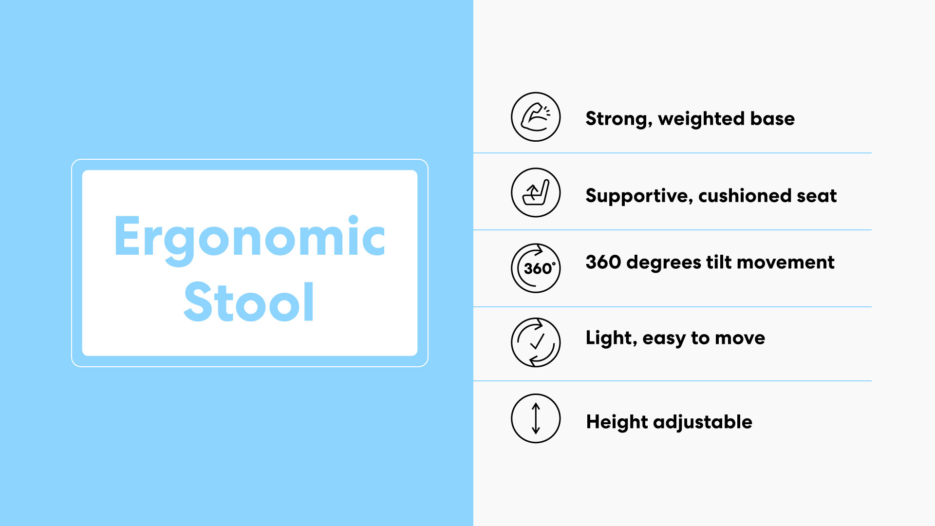 What You Need To Know About Ergonomic Stools 5
