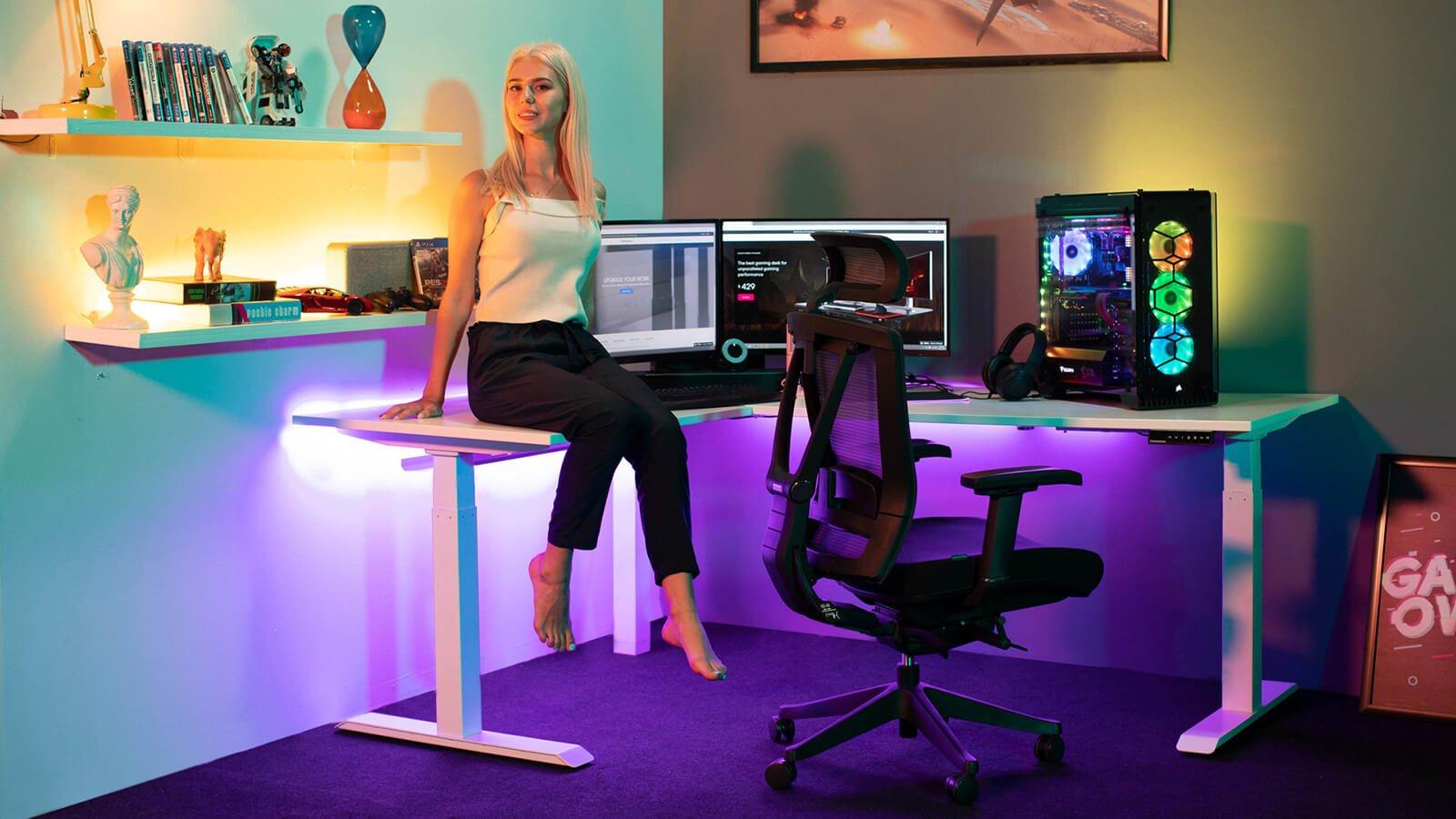 The professional streamer set