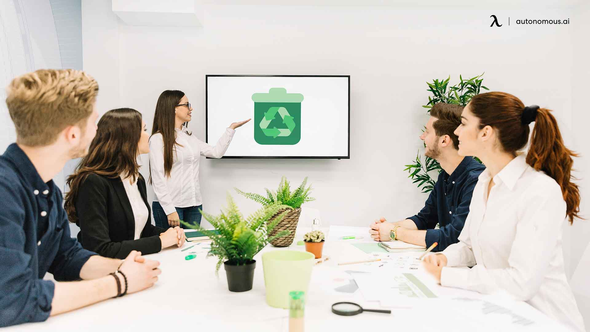 Reduce, reuse, recycle, refuse is the best green office tip