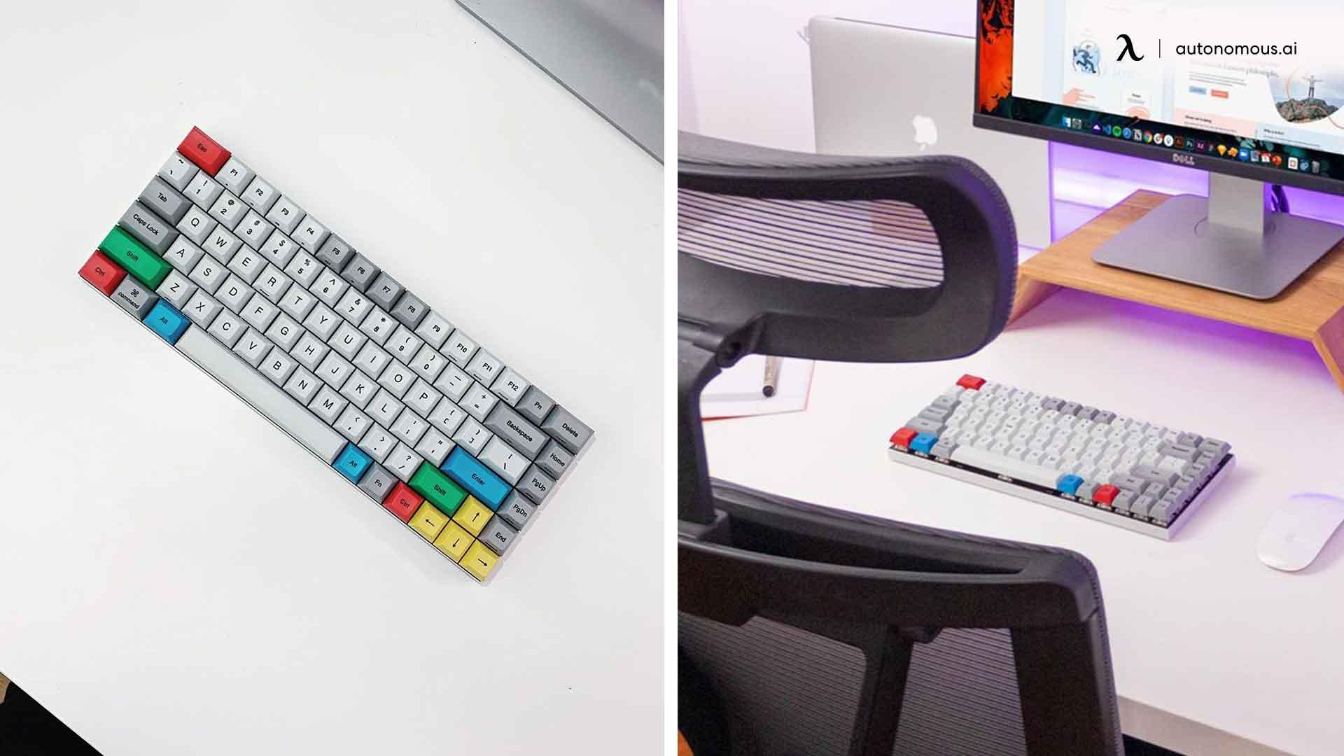 Desk setup - key board