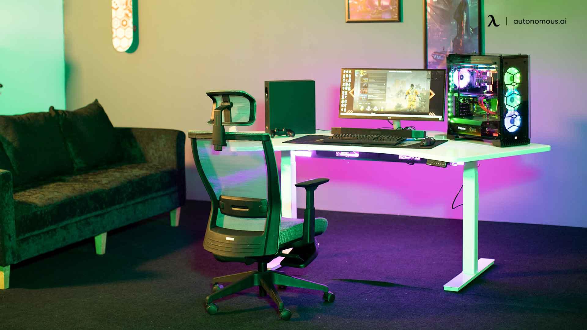 standing desk - desk setup