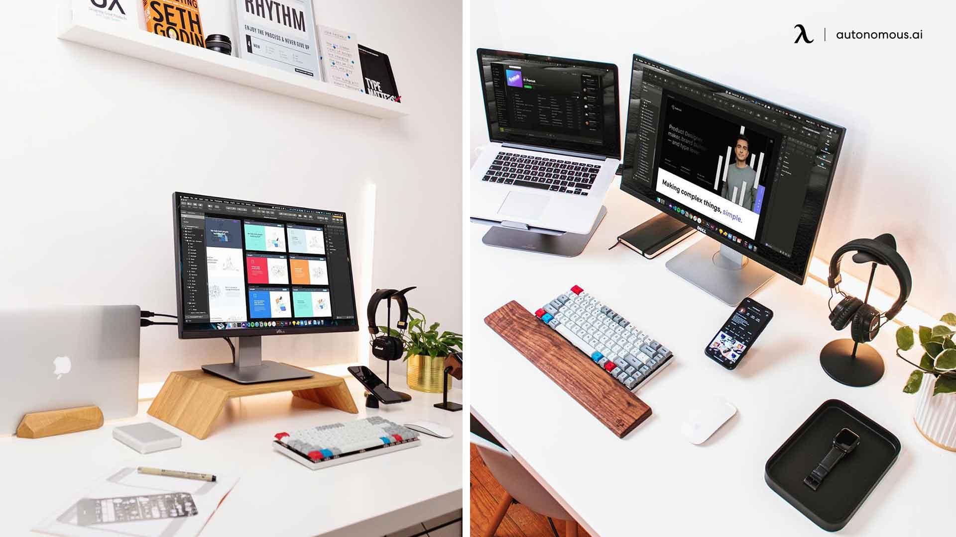 new setup - devices