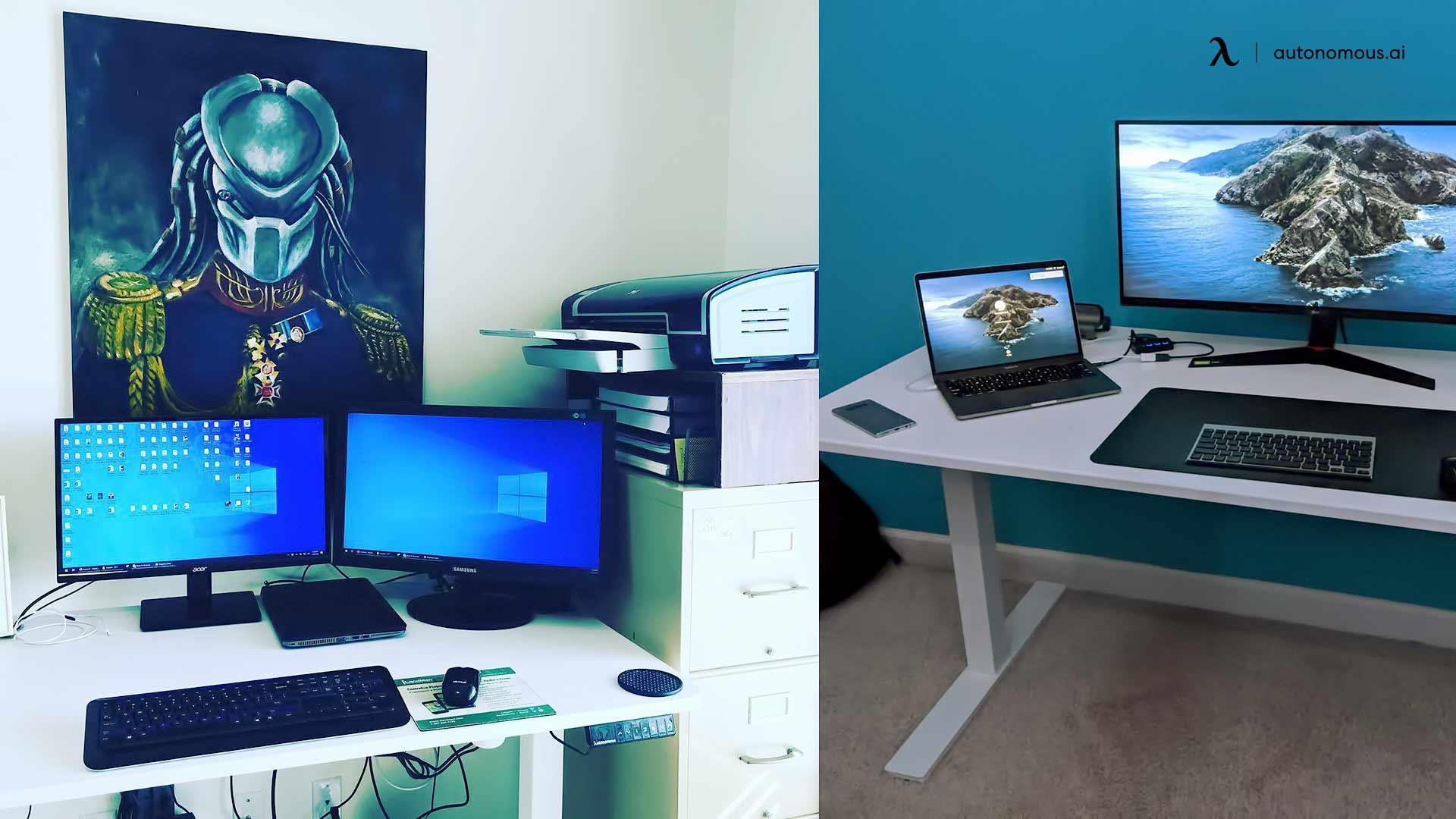 minimalist setup