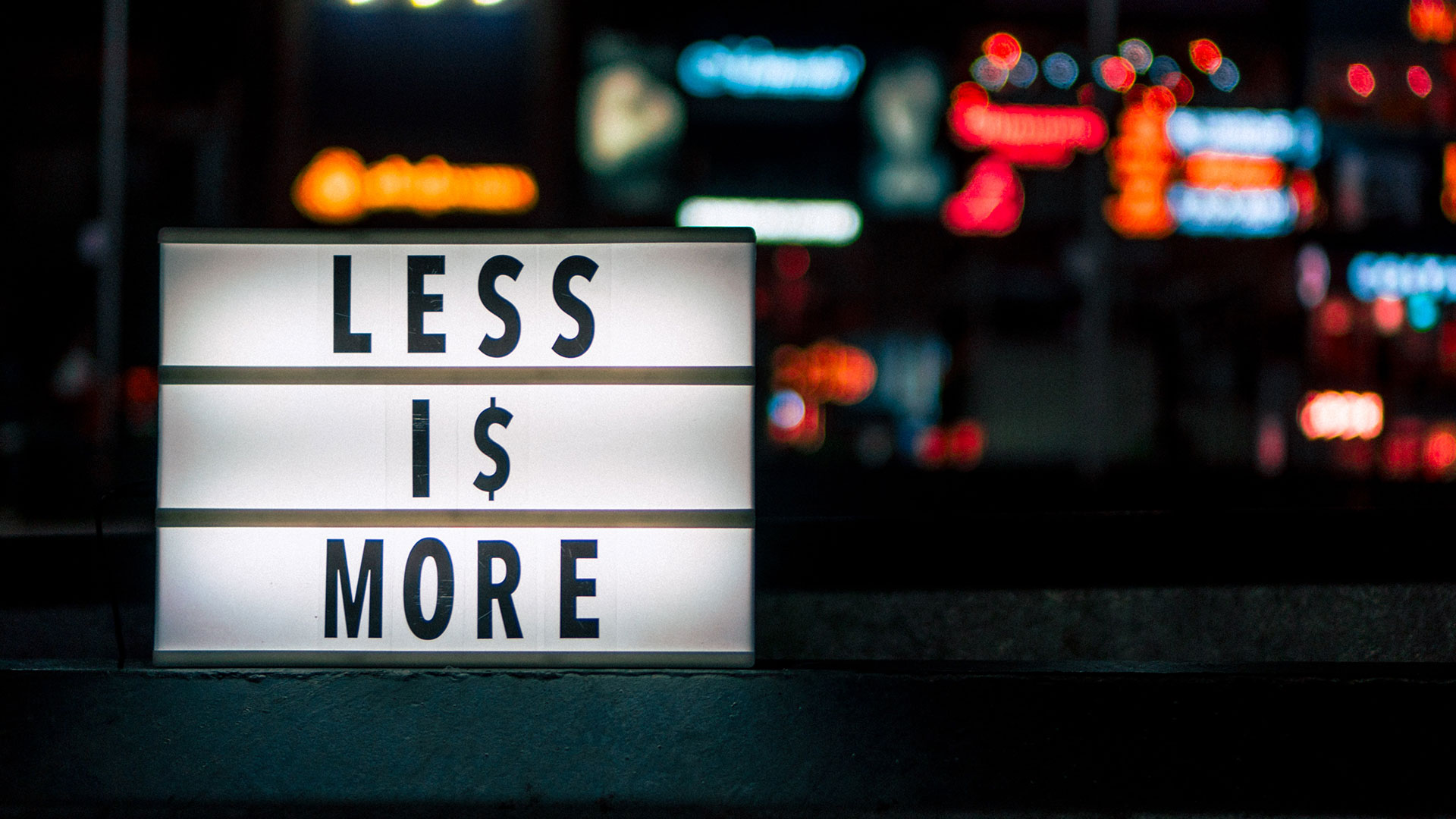 Less-is-_more
