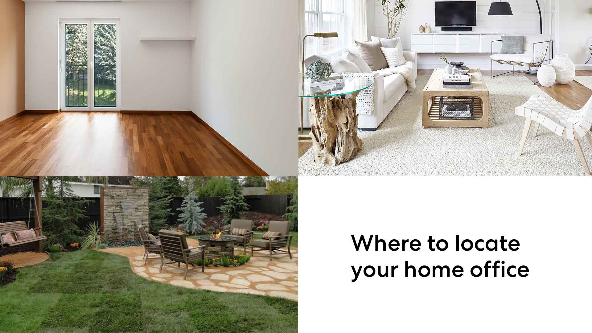 locate your home office