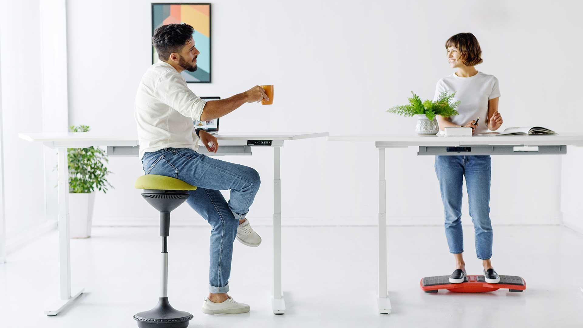 image relates to ergo stool