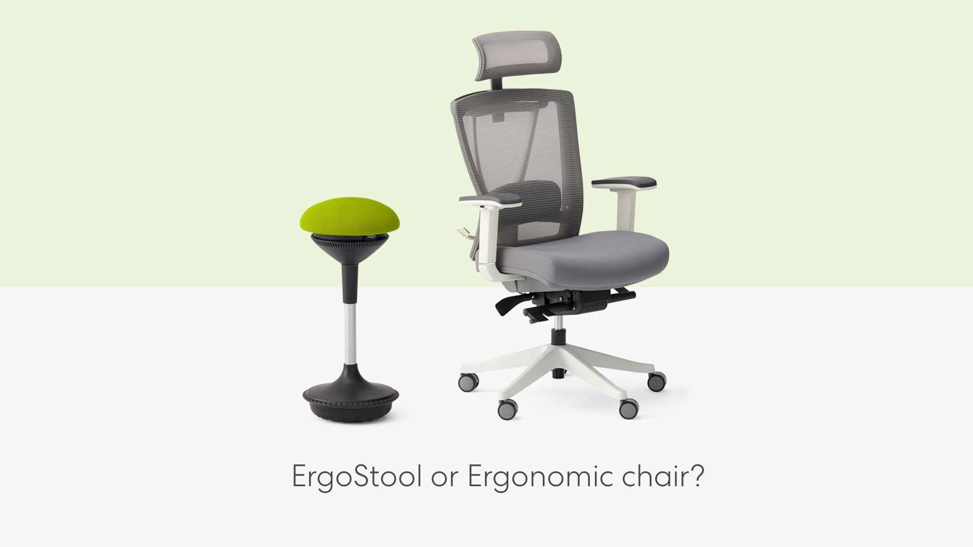image relates to ergonomic chair