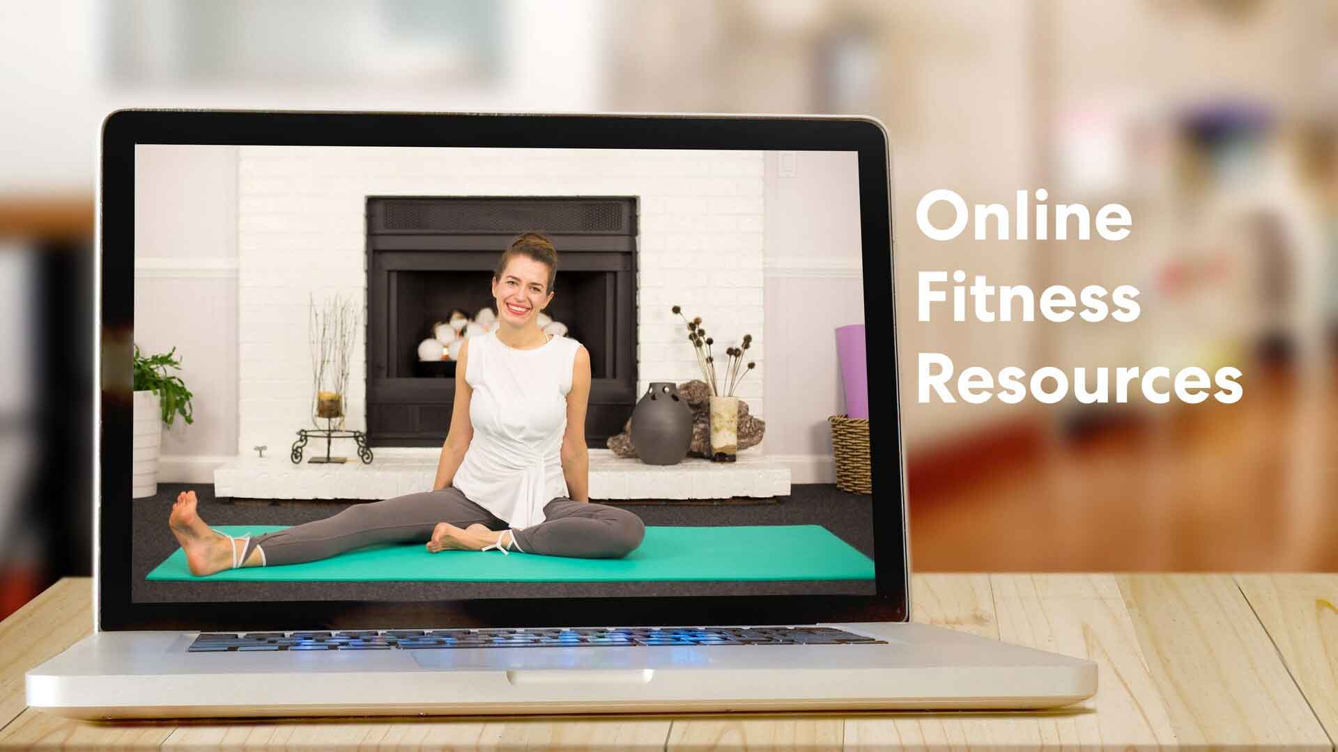 image relates to online fitness