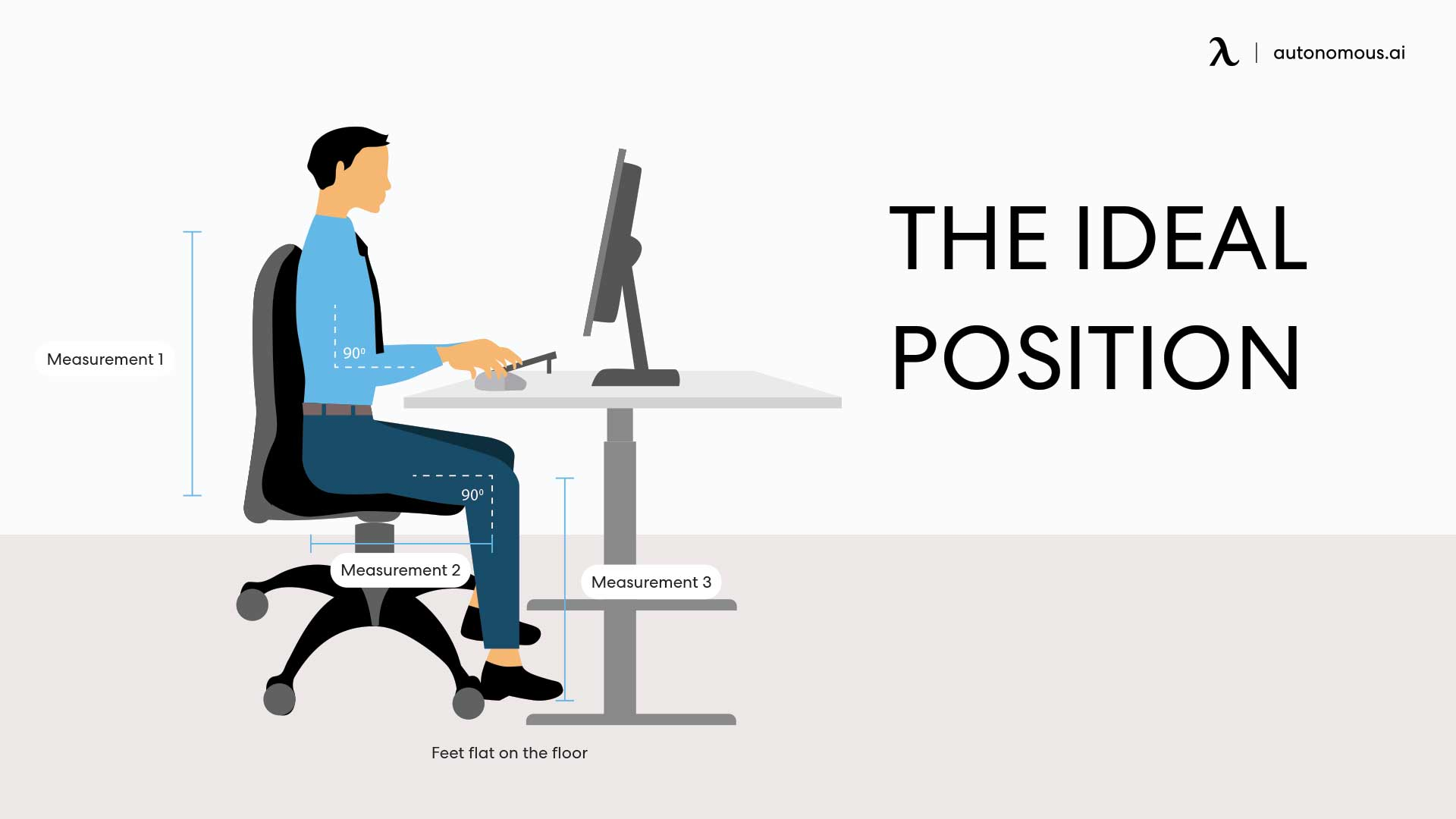 image relates to right posture