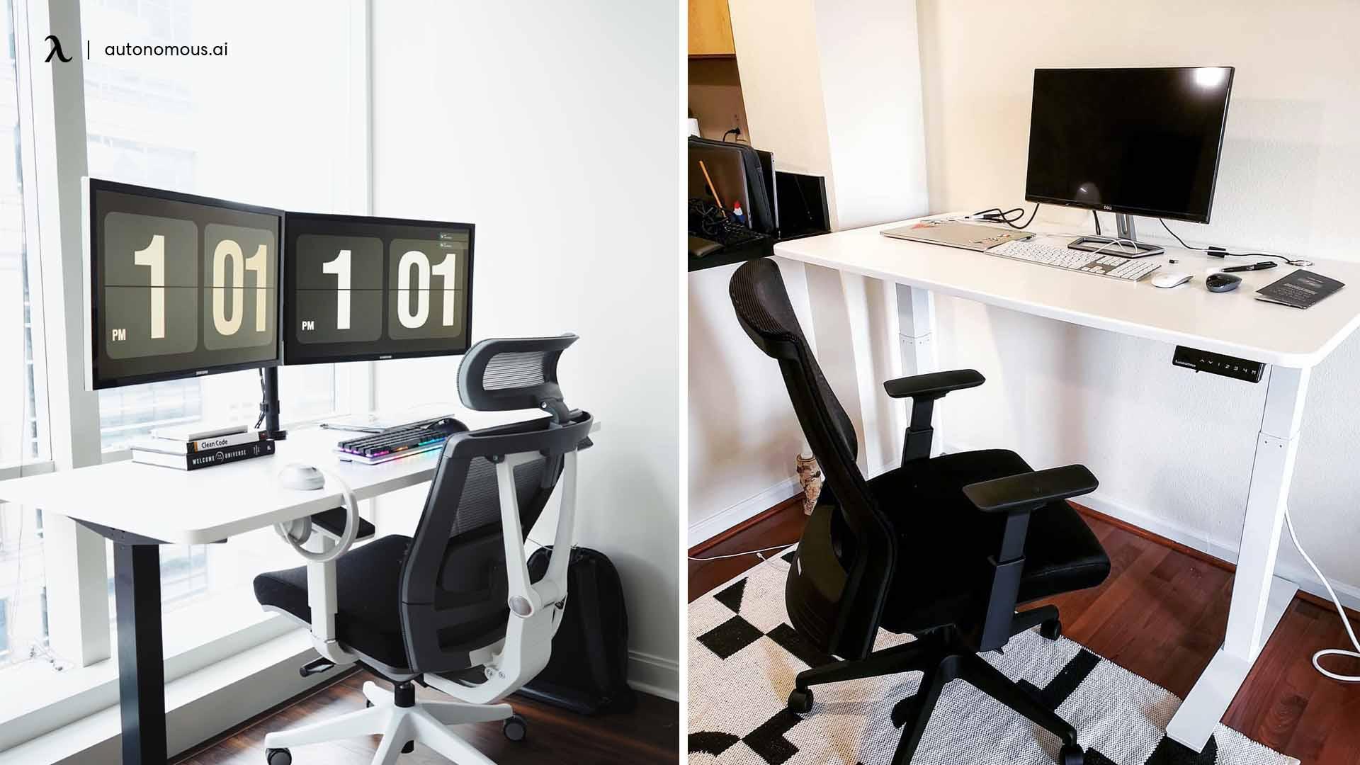 desk setup ideas