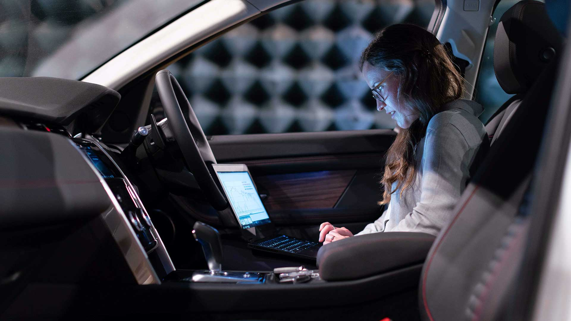 image relates to your laptop and devices in the car