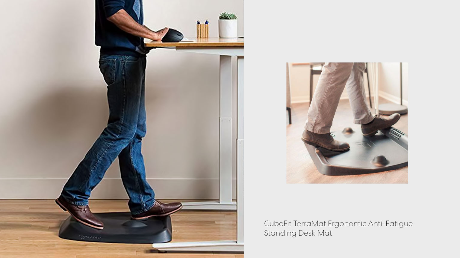 image relates to Anti-Fatigue Standing Desk Mat