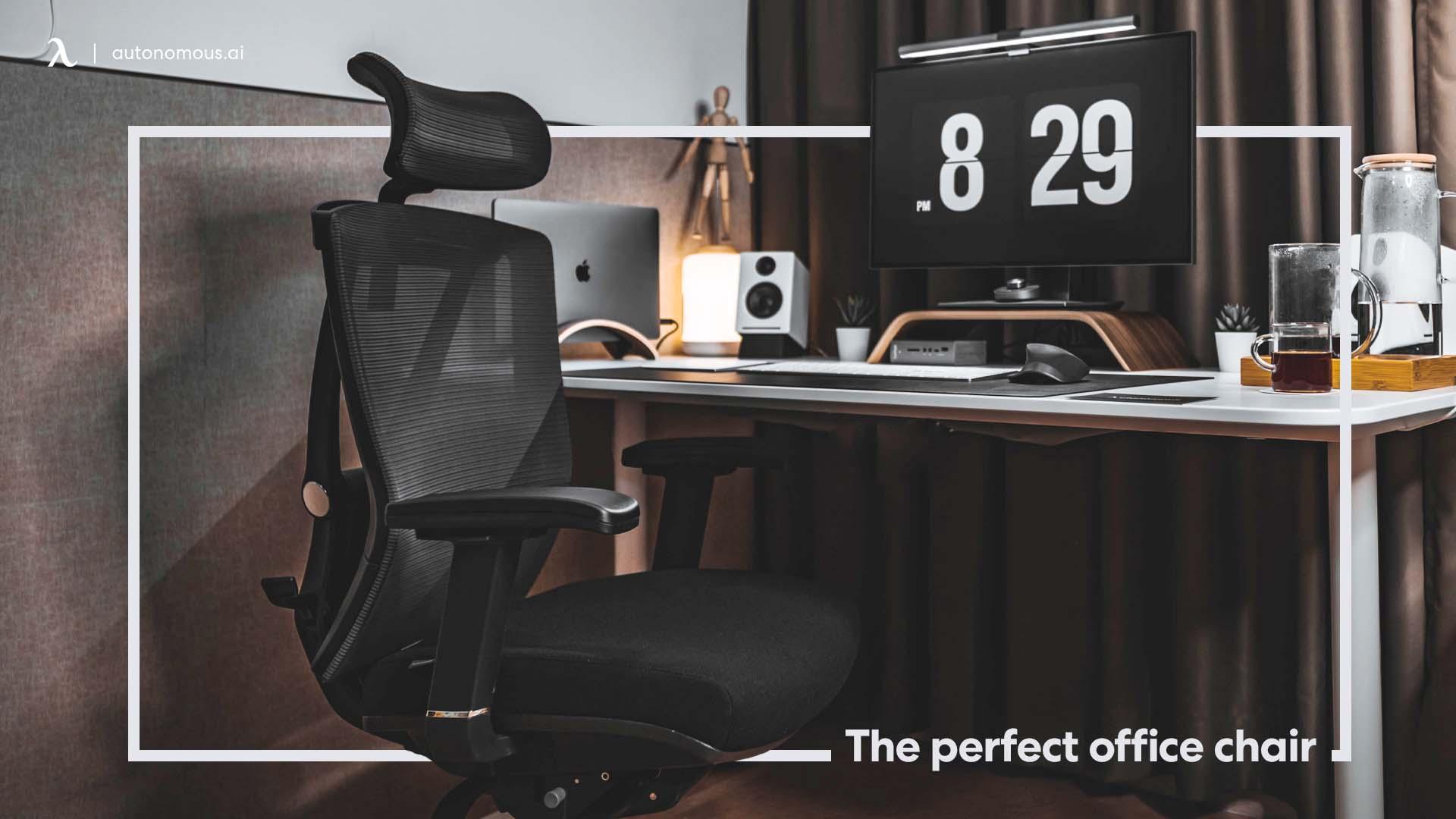 Standing dedsk & ergonomic chair for Productivity