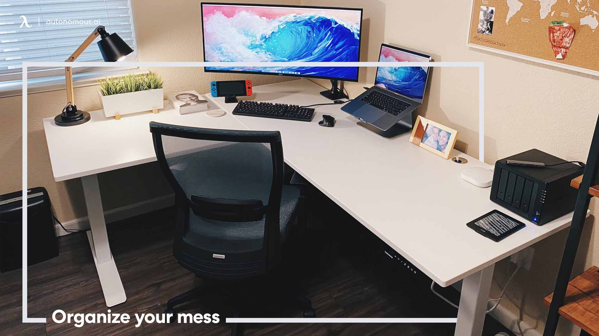 Know how to organize your work desk for productivity