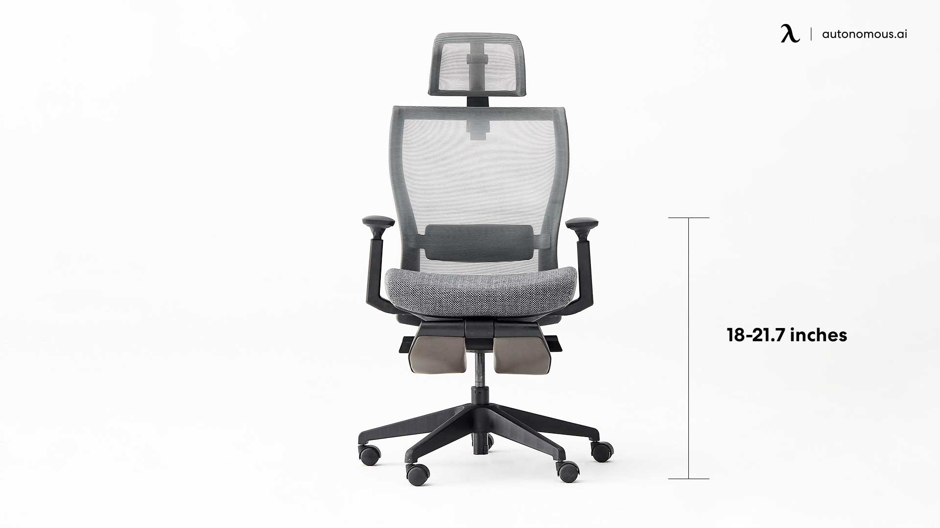 image relates to Height range of chair