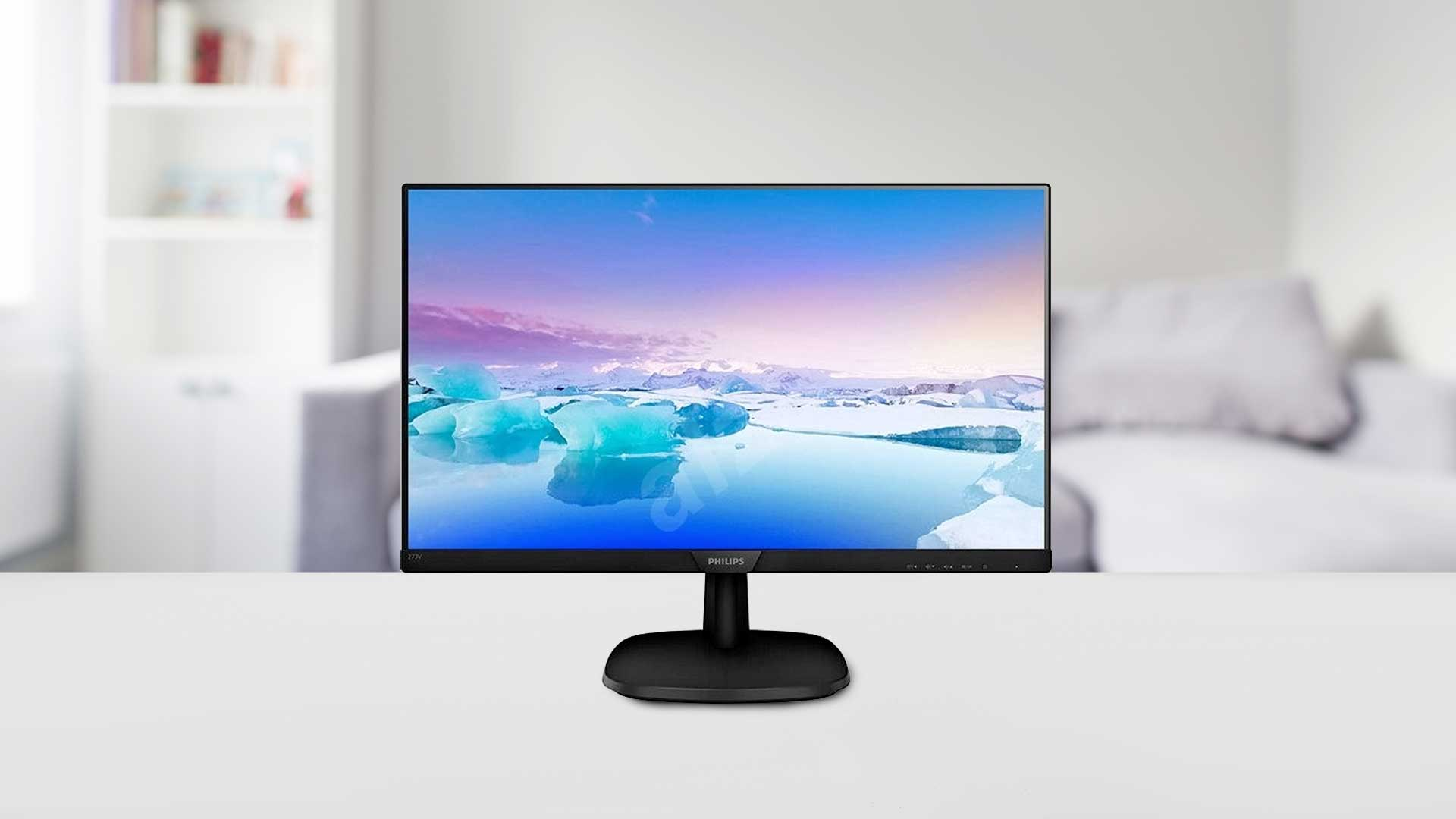 image relates to LCD monitor screen