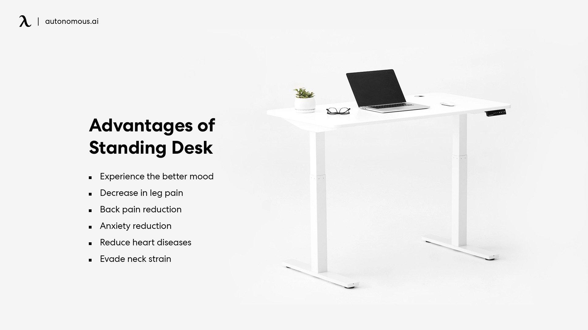 Advantages of Standing desk