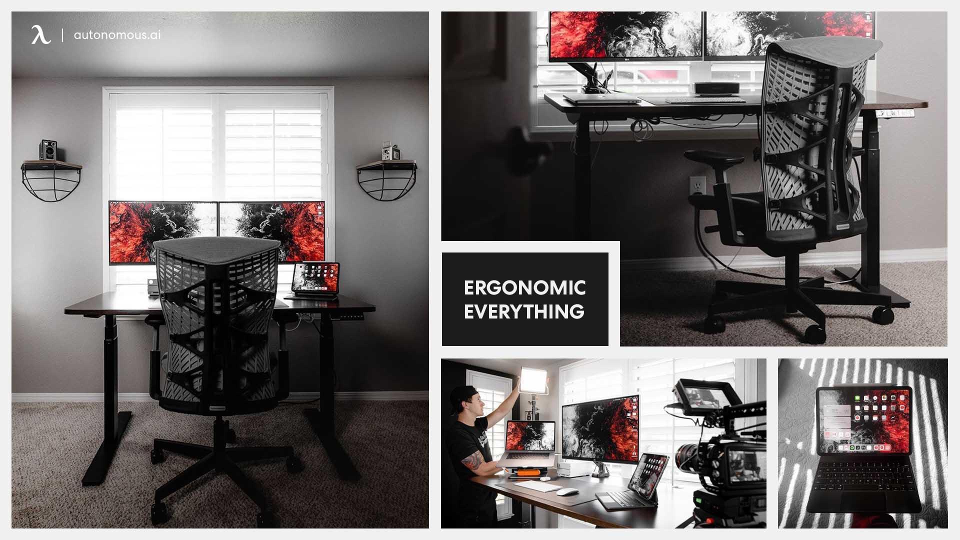 Photo of Ergonomic everything