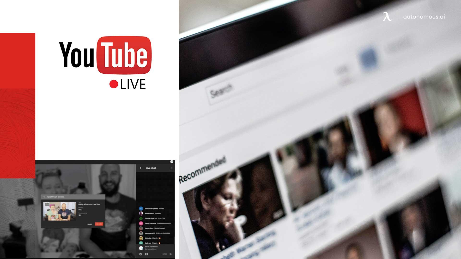 Photo of Youtube Live