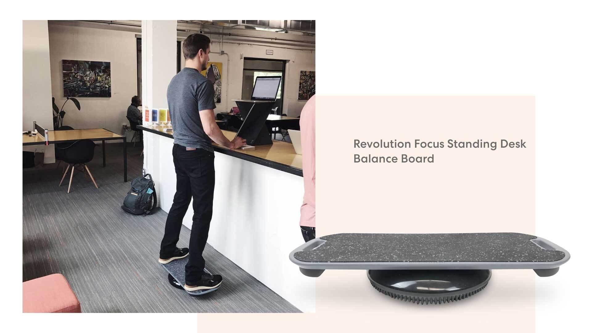 Photo of Standing desk balance board