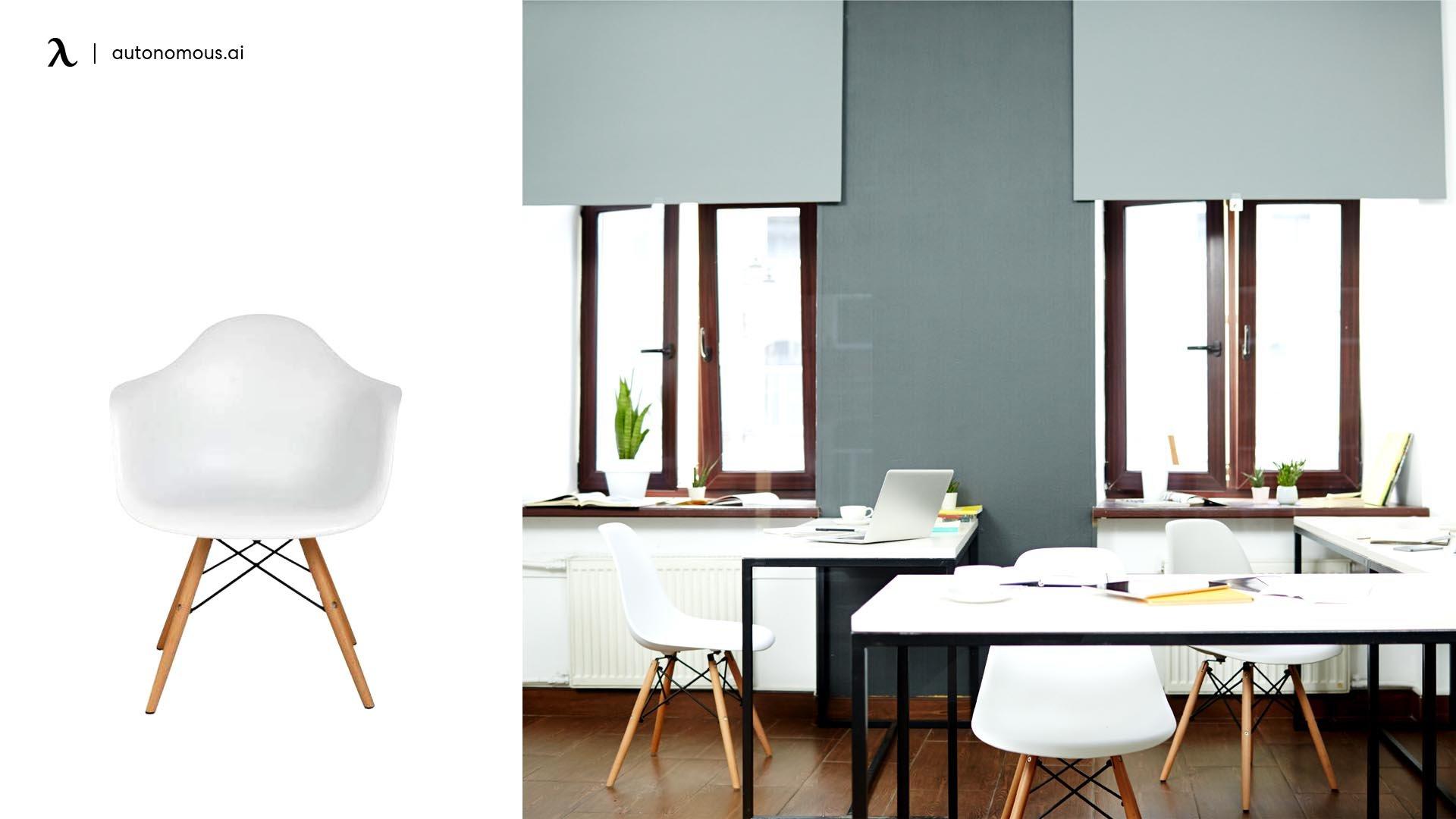 Photo of minimalist office furniture