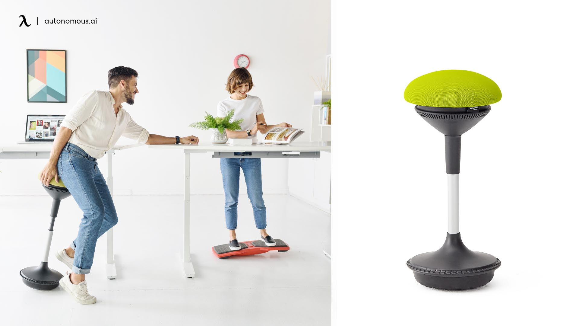 photo of ergonomic stools