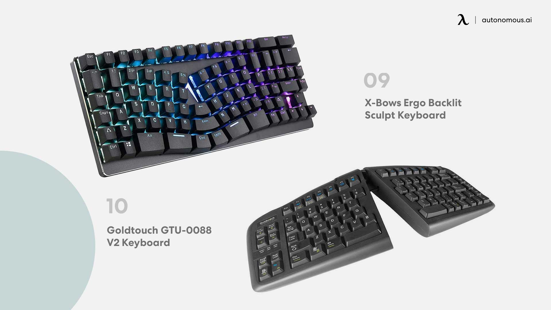 Photo of X-Bows Ergo and Goldtouch