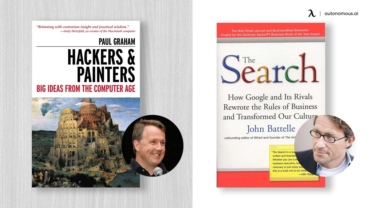 Photo of Hackers & Painters and The Search