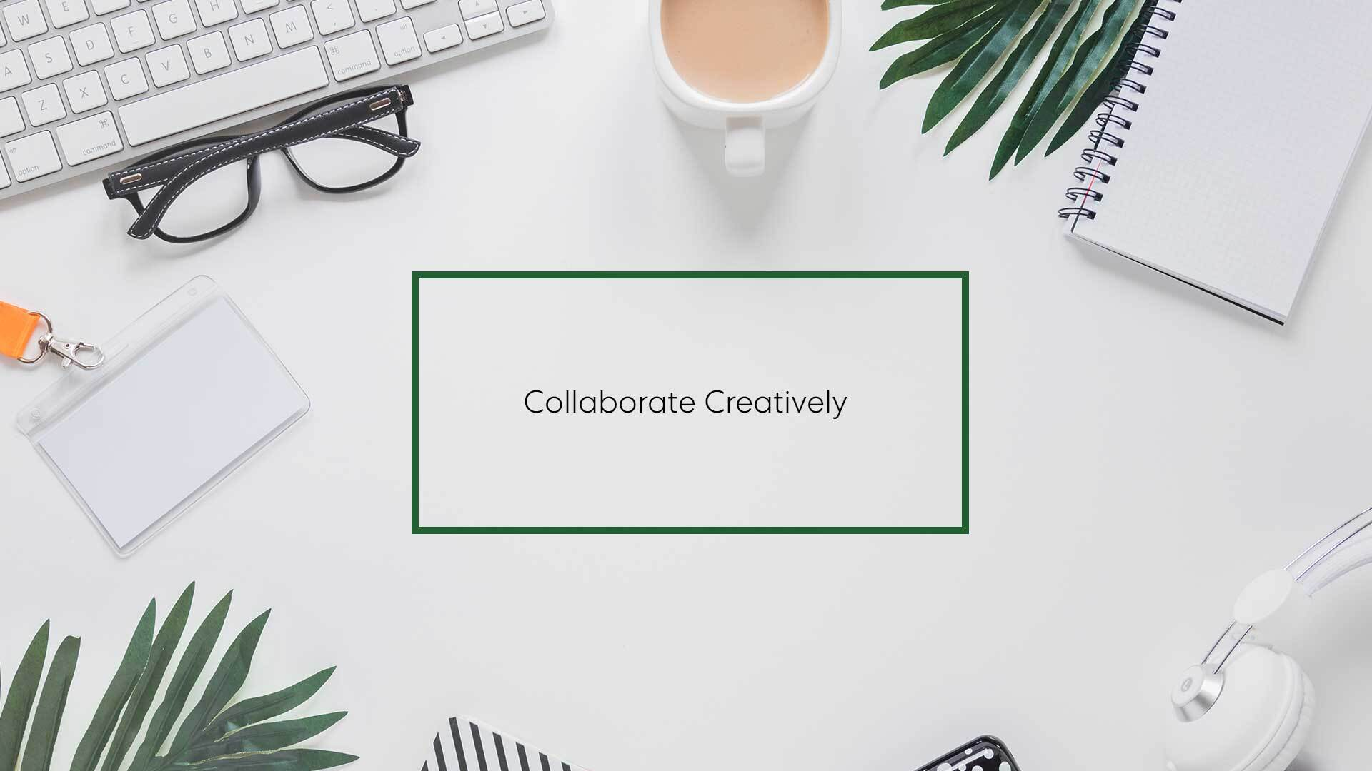 Photo of Collaborate creatively