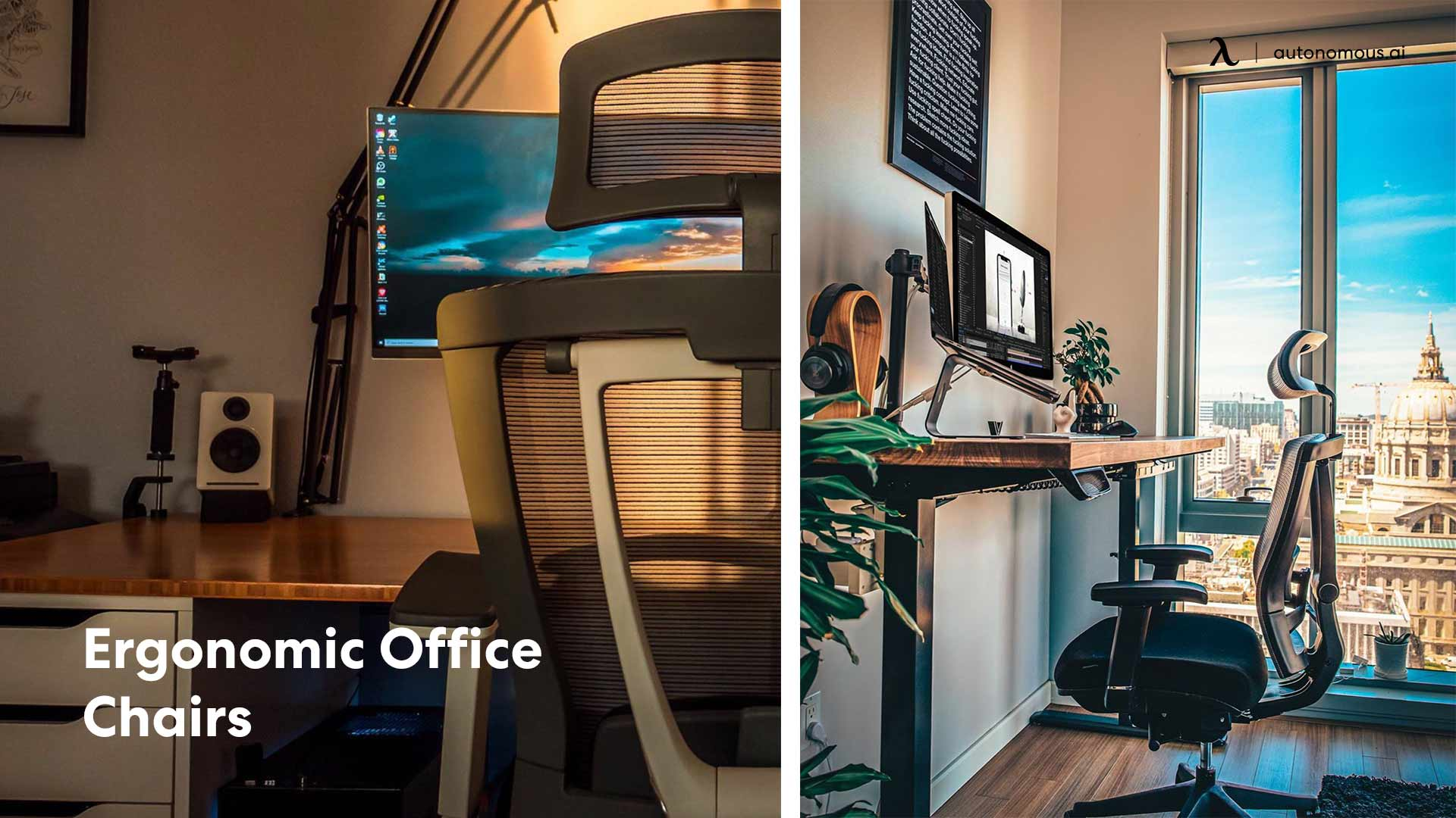 Photo of ergonomic office chair for teachers working from home