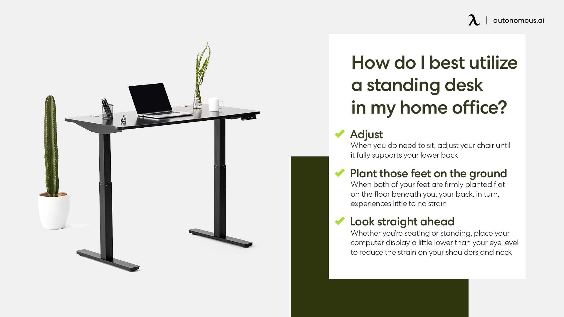 Photo of best utilize a standing desk