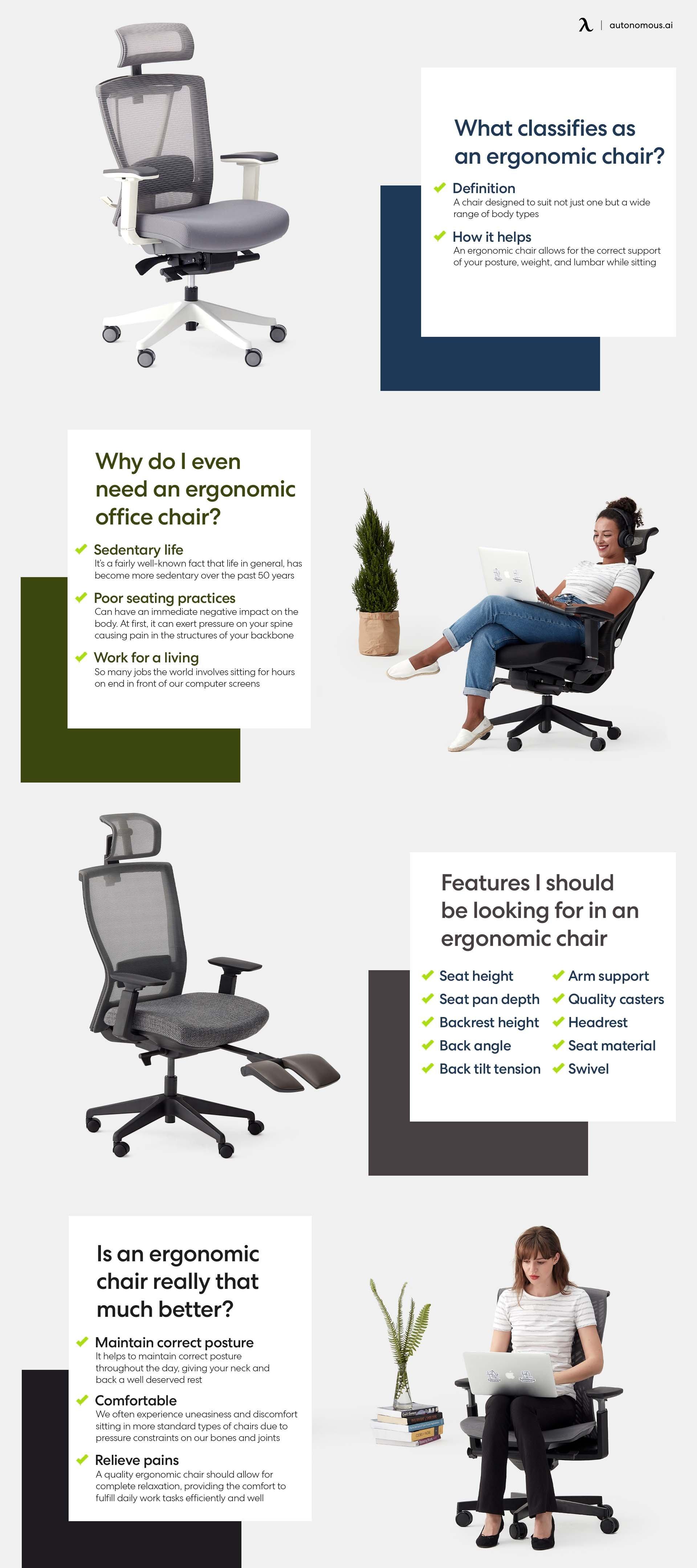 Photo of info ergonomic office chair