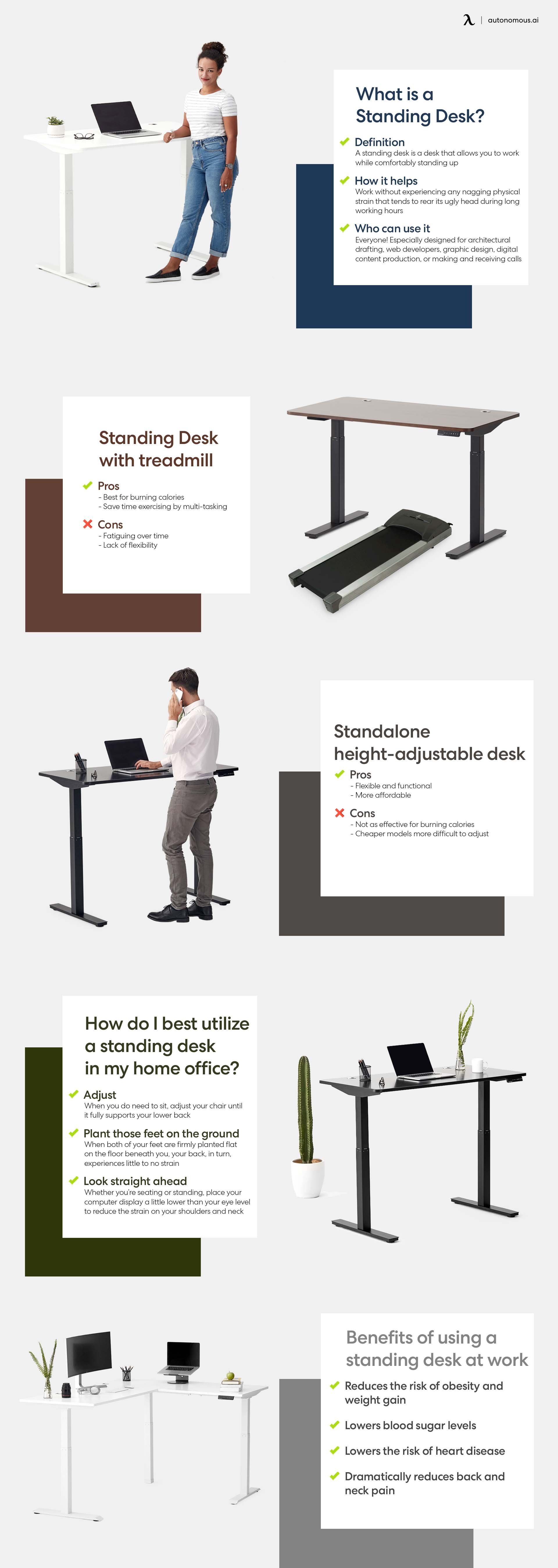 What is standing desk and its benefits