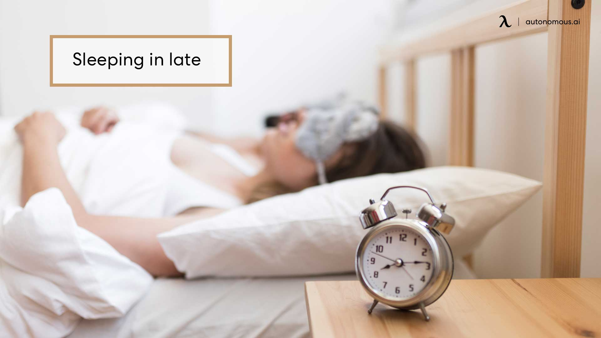 Photo of bad habit sleeping in late