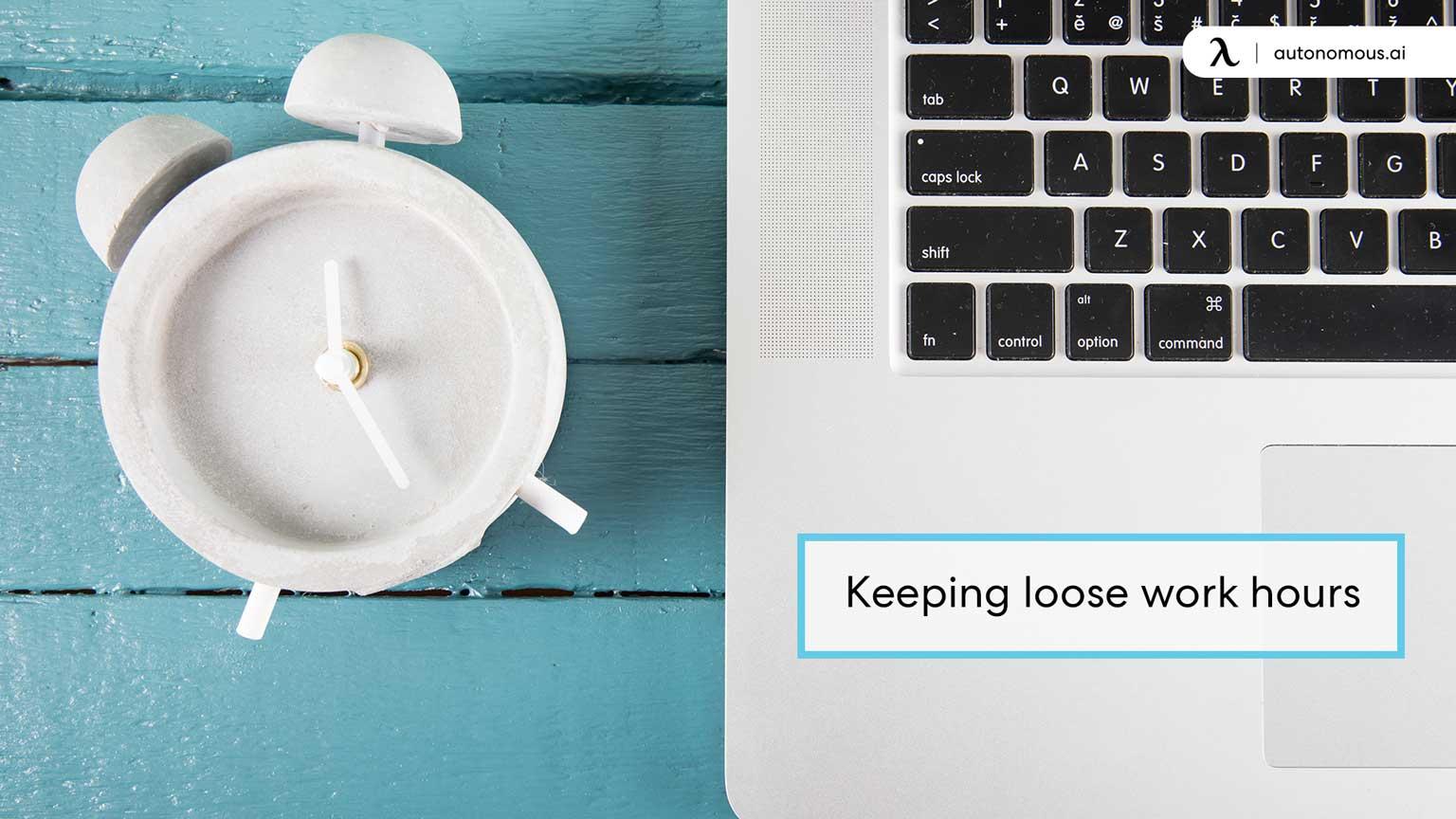 Photo of bad habit keeping loose work hours