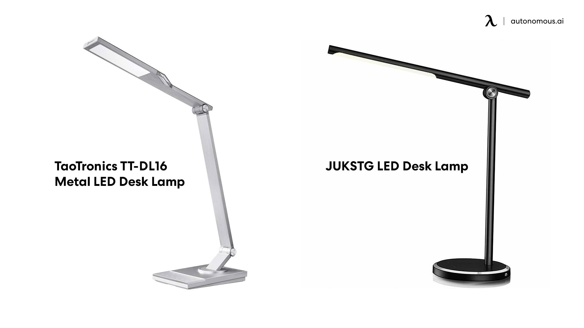 Metal LED Desk Lamp photo