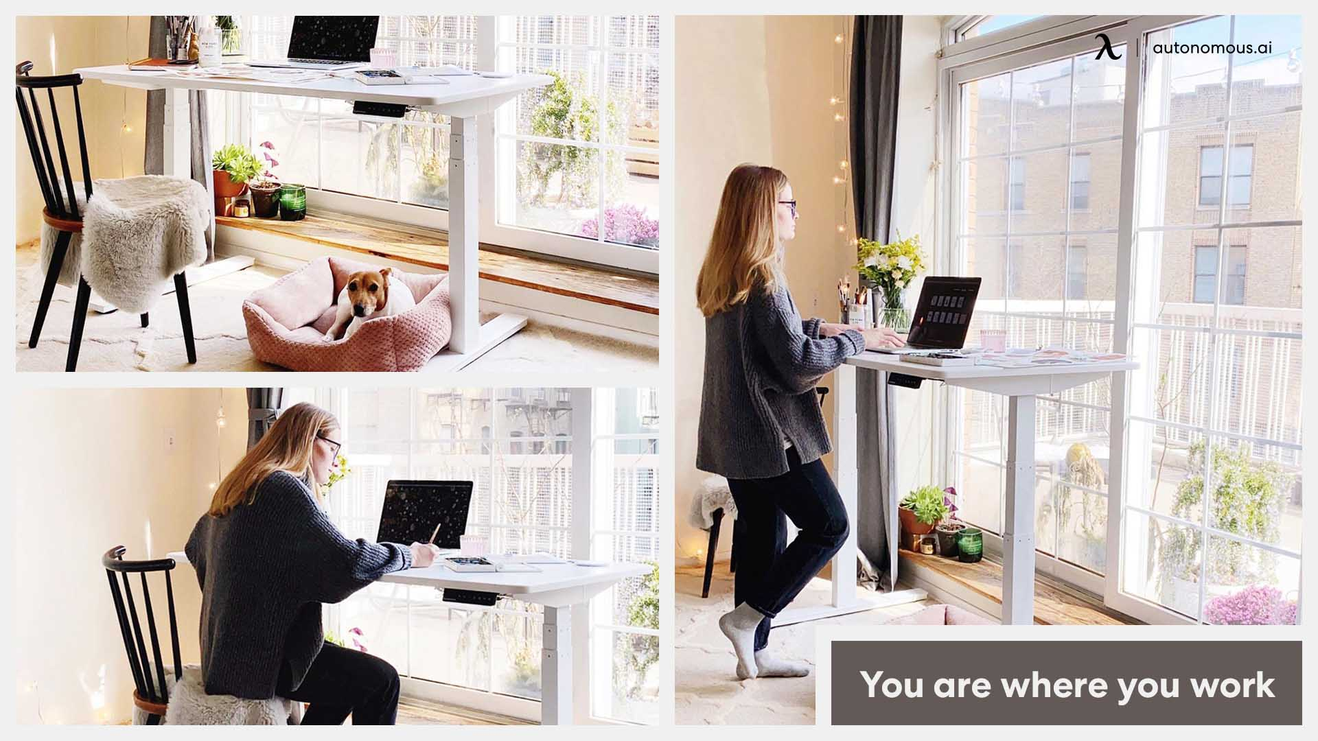 Work while standing
