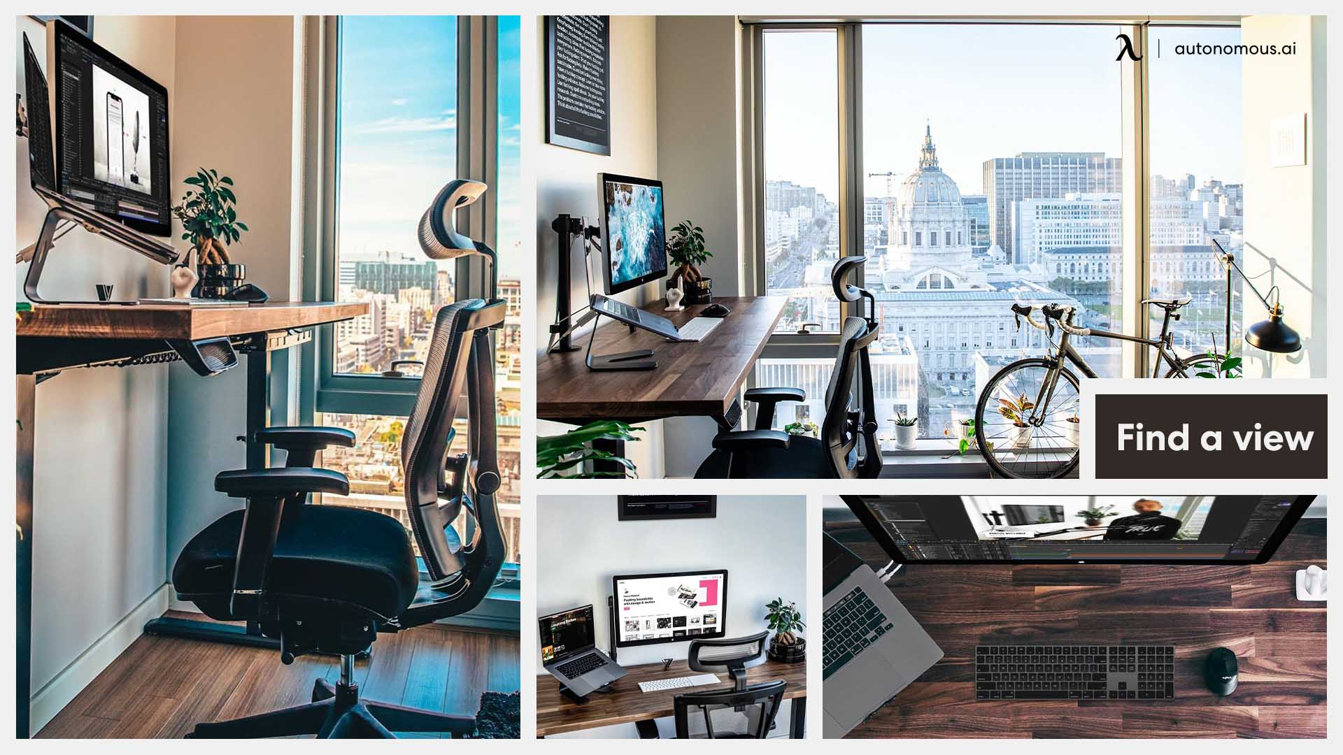 What are the pros and cons of designing a stylish home office?