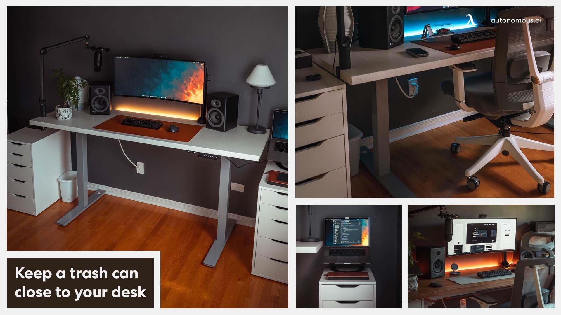 Modern & clean home office