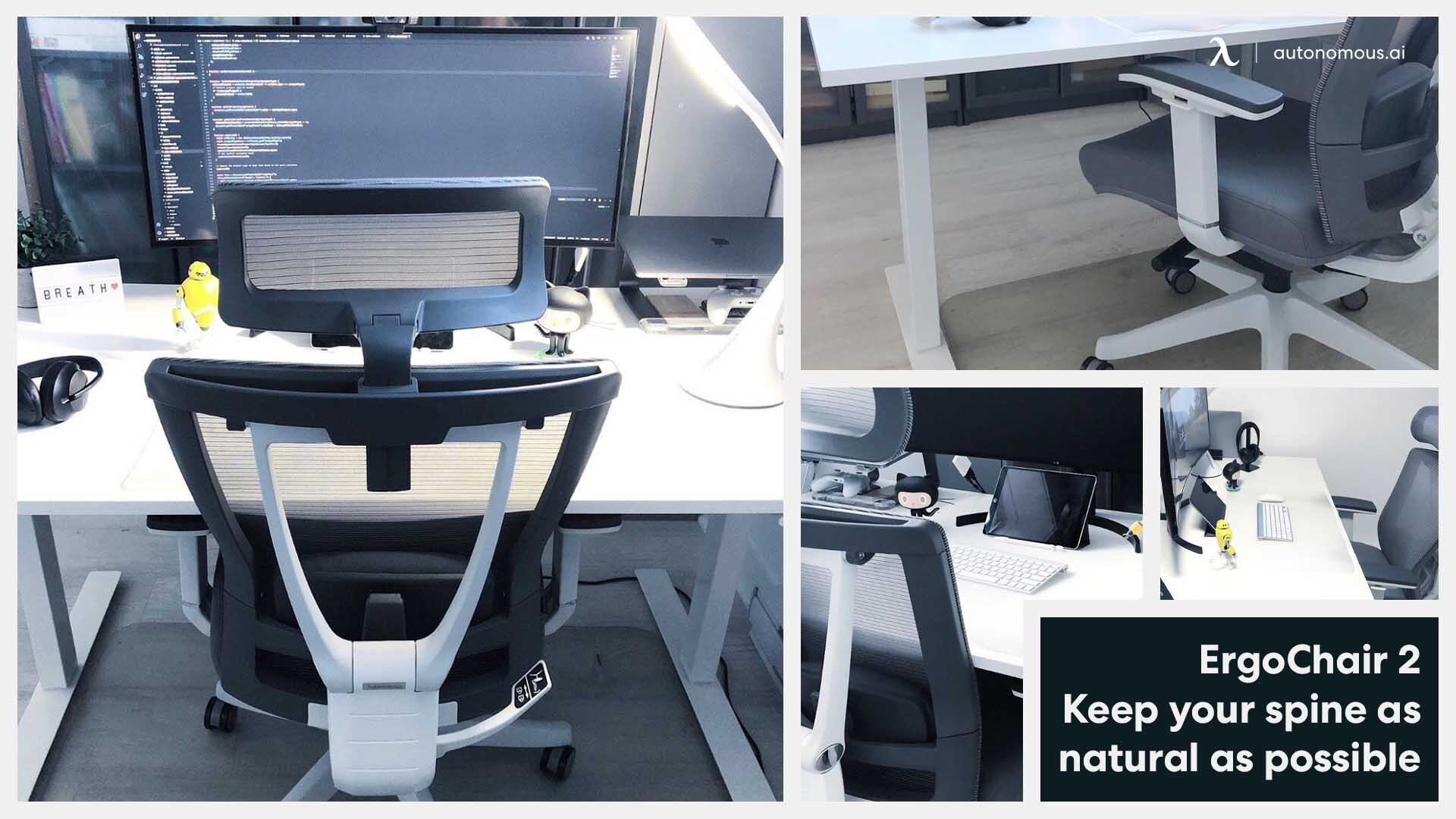 Smart chair for home office setup