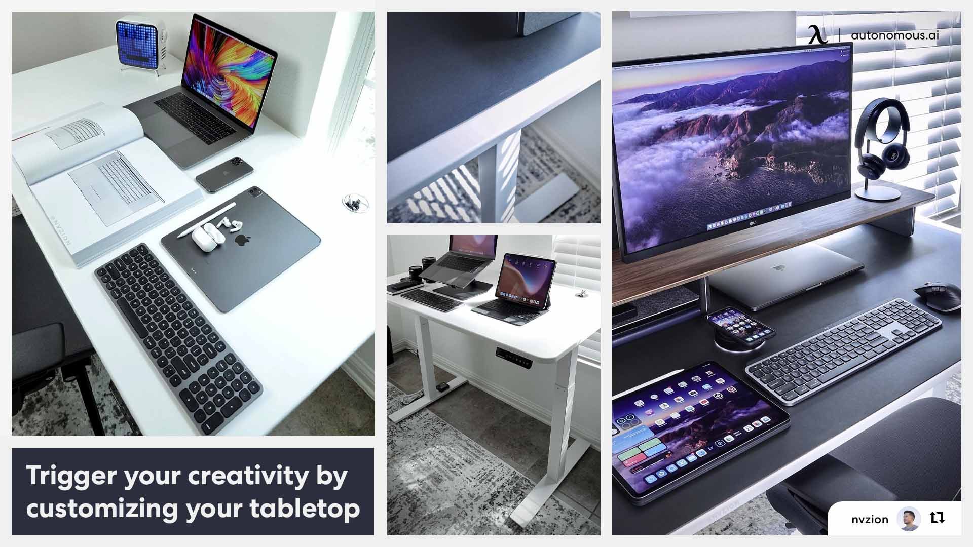 Customize your tabletop