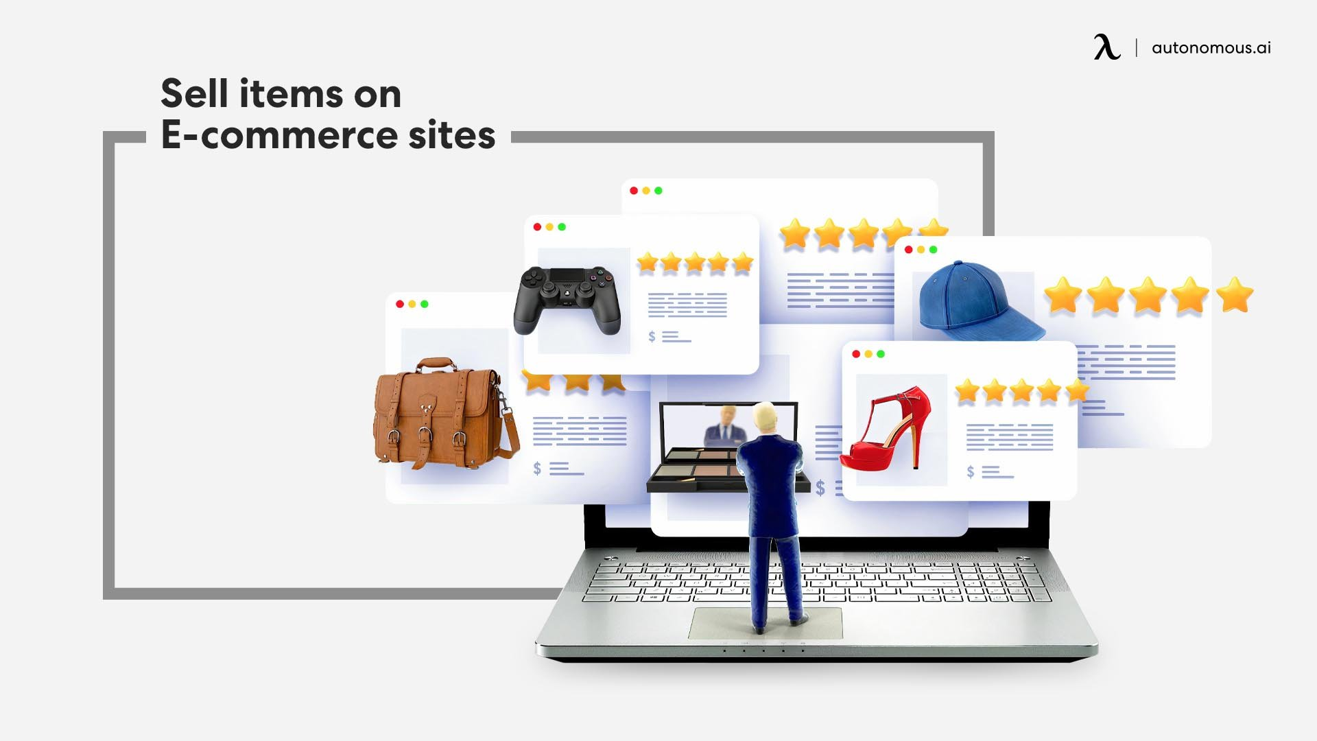 Sell items on E-commerce sites