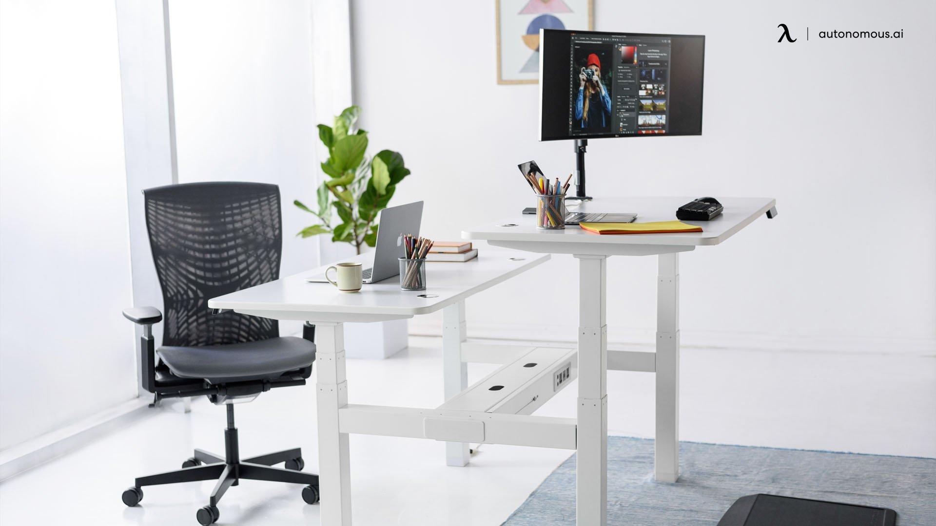 Ergonomic chair and smart desk