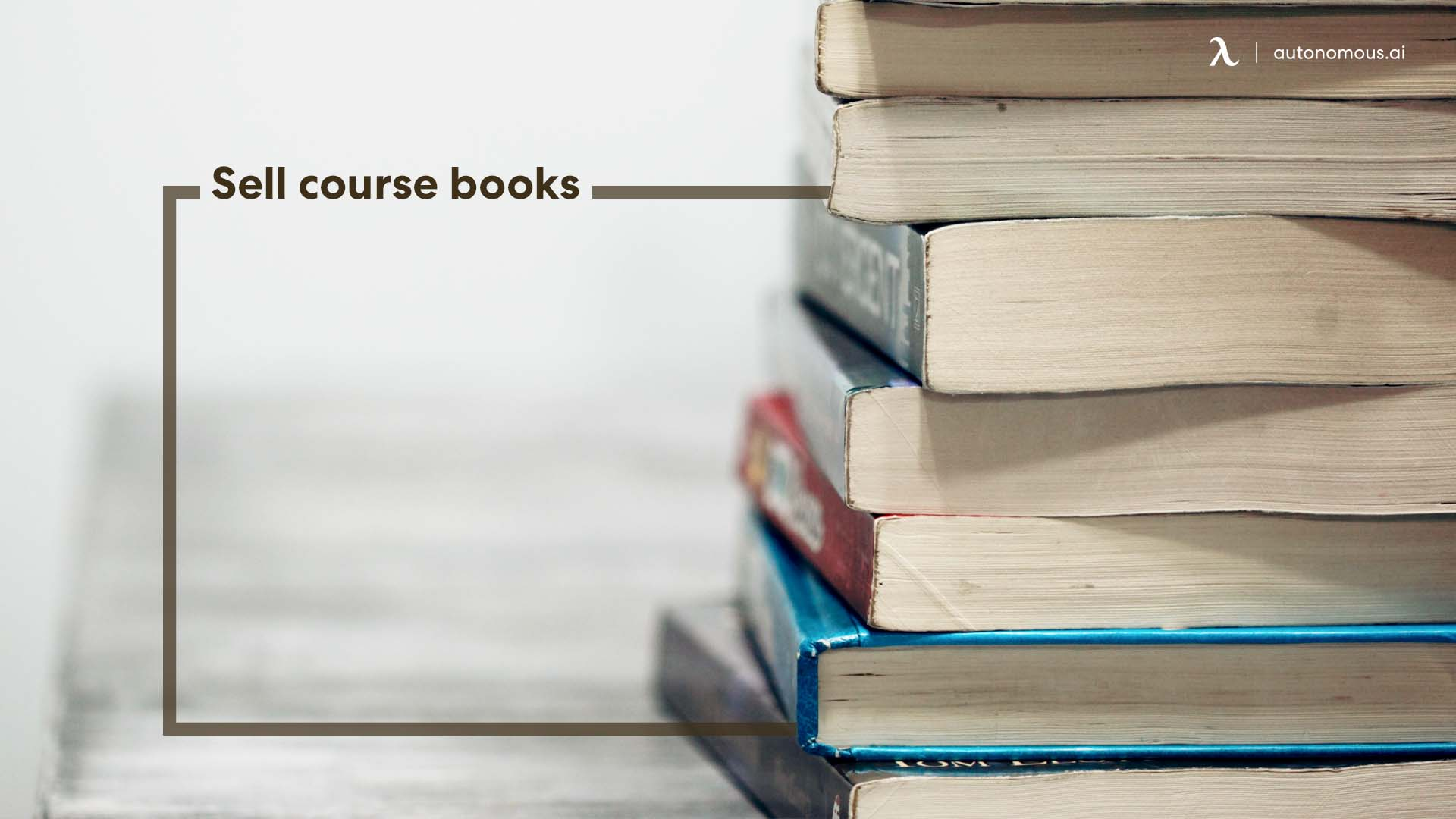 Sell course books