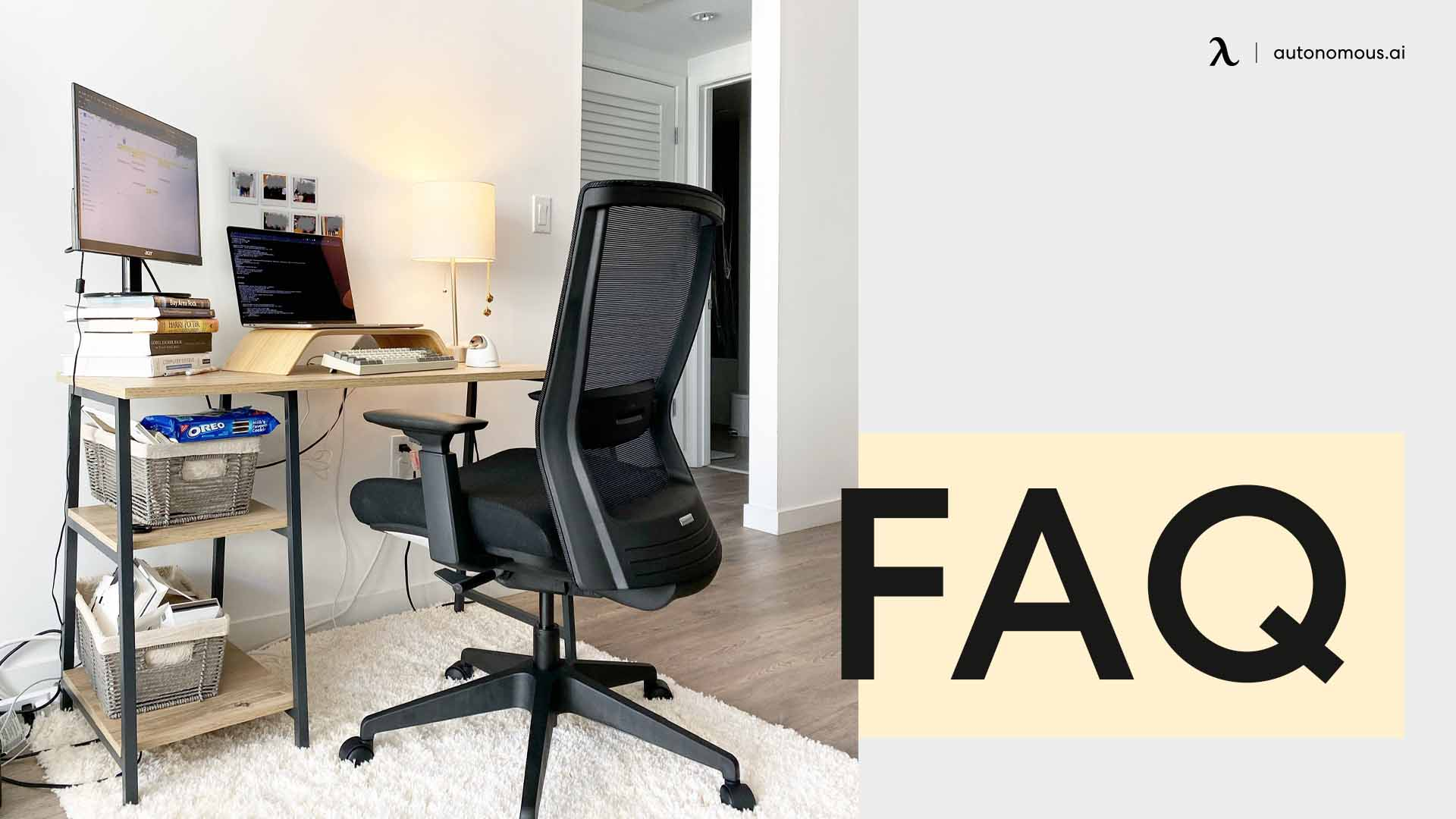 Ergonomic chair for freelancer