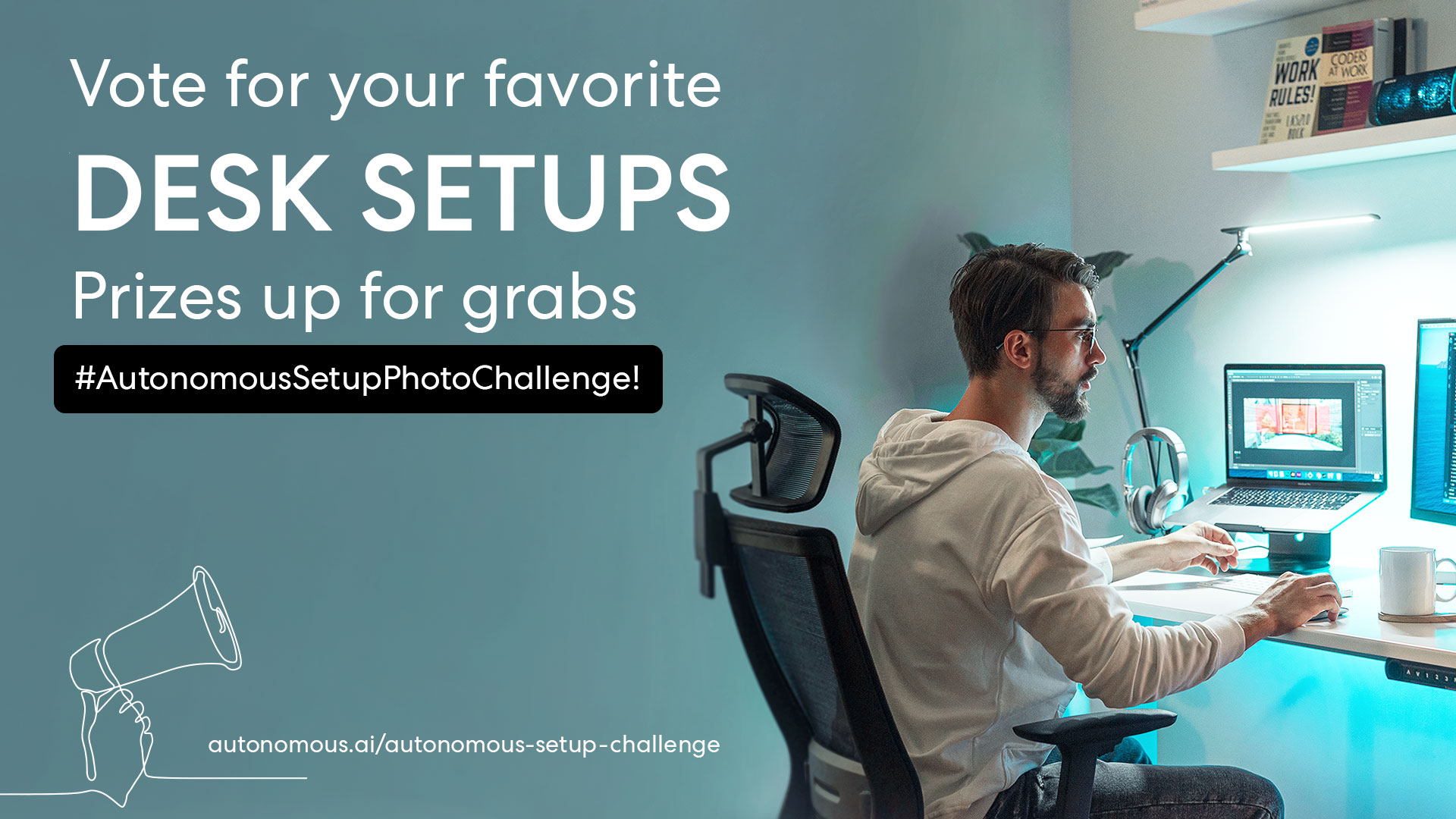 Desk setup photo challenge