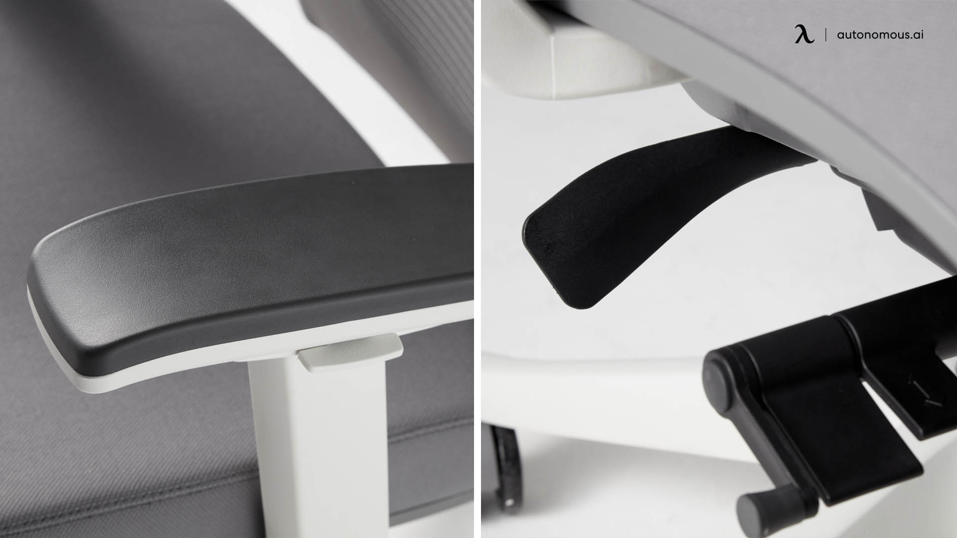 Photo of the Armrests and seat tilt of kids desk chair